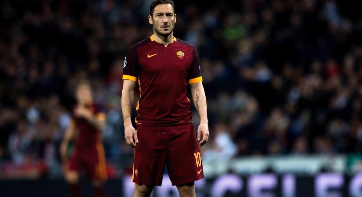 Francesco Totti AS Roma jalkapallo / Pallomeri.net