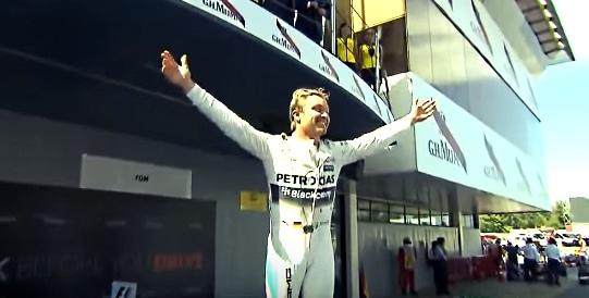 Nico Rosberg julkaisi hauskan vertailukuvan -