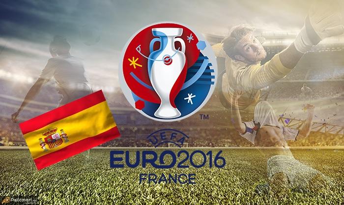 Espanjan Jalkapallon EM-kisat joukkueet kokoonpanot Espanja Pallomeri.net