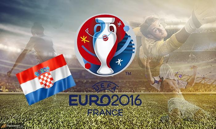 Jalkapallon EM-kisat joukkueet kokoonpanot Kroatia Pallomeri.net