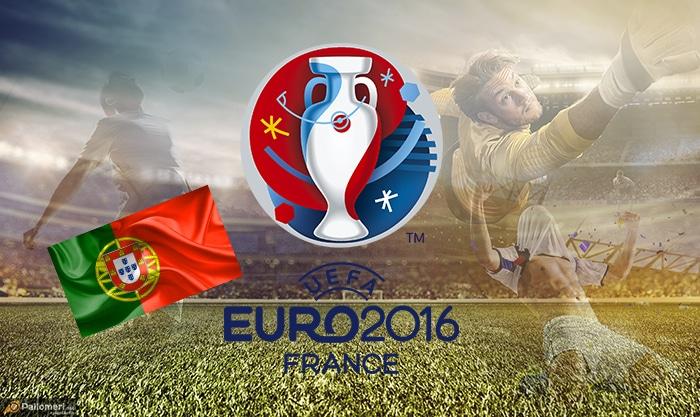 Jalkapallon EM-kisat Portugalin joukkueet kokoonpanot Portugali Pallomeri.net Ronaldon