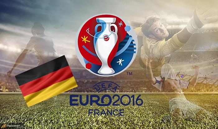 Saksan Jalkapallon EM-kisat joukkueet kokoonpanot Saksa Pallomeri.net