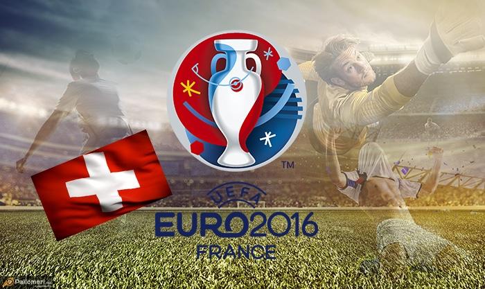 Sveitsin Jalkapallon EM-kisat joukkueet kokoonpanot Sveitsi Pallomeri.net