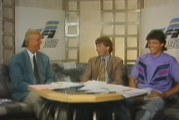 Klassikkovideo: EM-kisat 1992 – studiossa nuoret Jari Litmanen ja Pasi Rautiainen