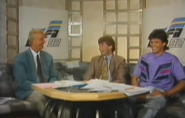 Klassikkovideo: EM-kisat 1992 - studiossa nuoret Jari Litmanen ja Pasi Rautiainen