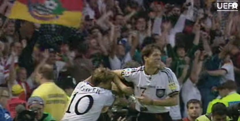 Klassikkovideo: EM-kisat 1996 - Saksa mestariksi Oliver Bierhoffin kultaisella maalilla