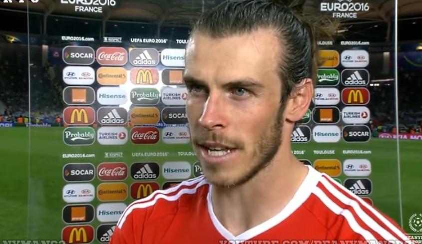 Tottenham Gareth Bale maailman nopeimmat jalkapalloilijat Wales Jalkapallon EM-kisat - Pallomeri.net