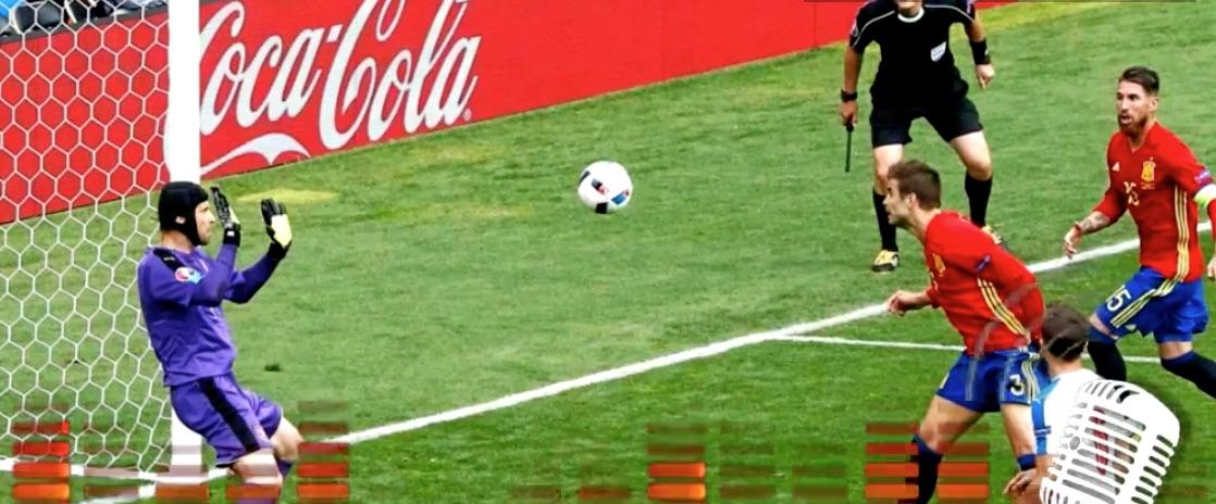 Video: Madridilainen radioselostaja sekosi Gerard Piquén maalista