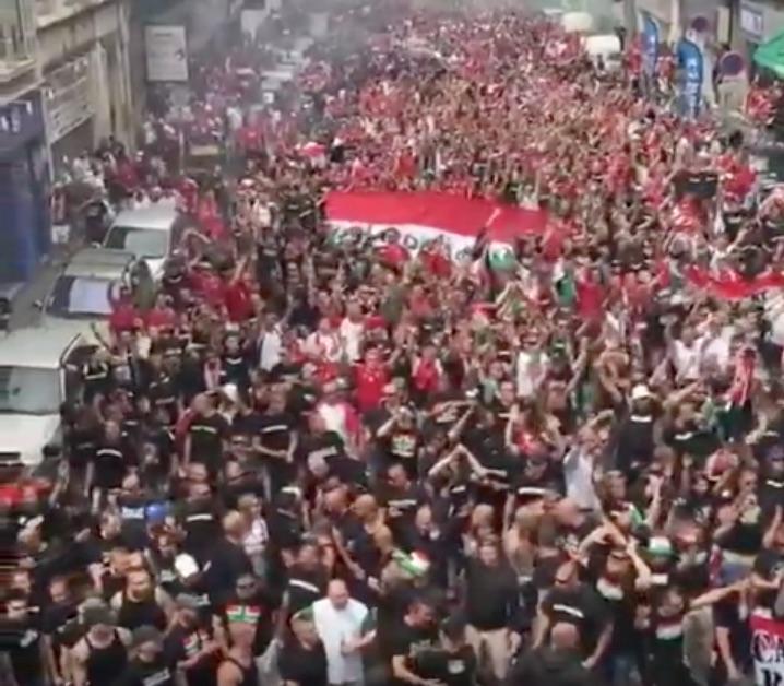 Video: Unkari-fanit kunnostautuivat hyvässä ja pahassa
