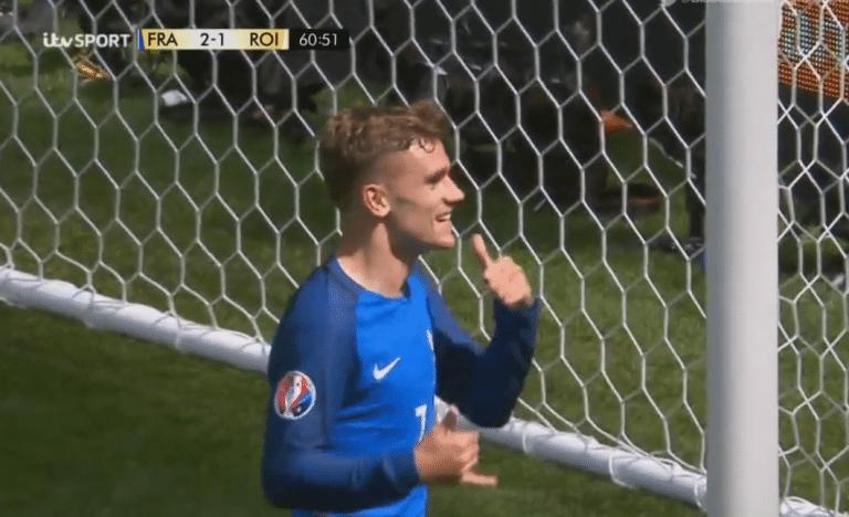 Griezmann pelasti Ranskan – sitkeä Irlanti kaatui 2-1