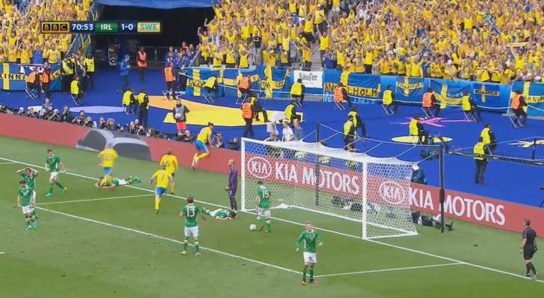 Video: Ruotsi nousi 1-1-tasapeliin Zlatan Ibrahimovicin syötöllä