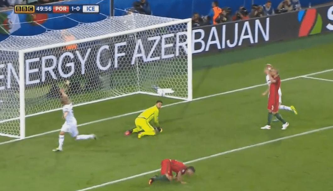 Video: Islanti taisteli 1-1-tasapelin Portugalia vastaan!