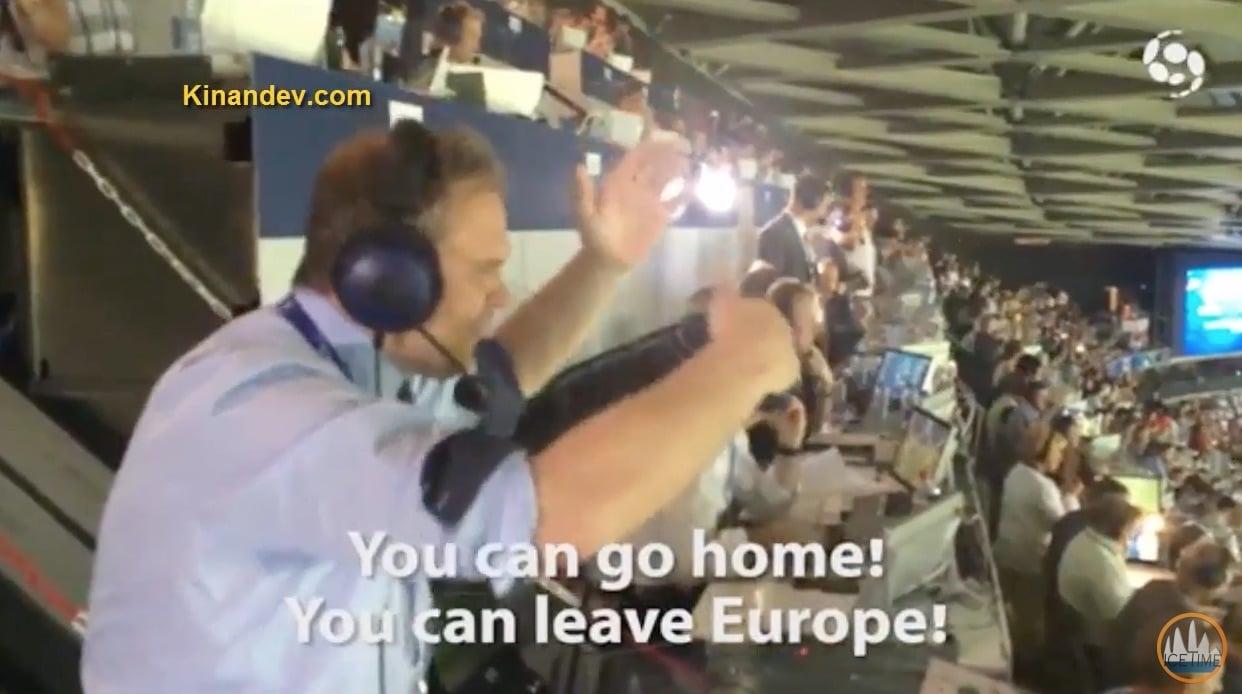 Video: Islantilaisselostaja sekosi Englanti-voiton jälkeen
