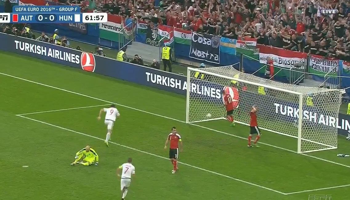 Video: Unkari murjoi ennakkosuosikki Itävallan 2-0!