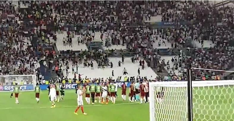 Huliganismi pilasi upean jalkapallotapahtuman