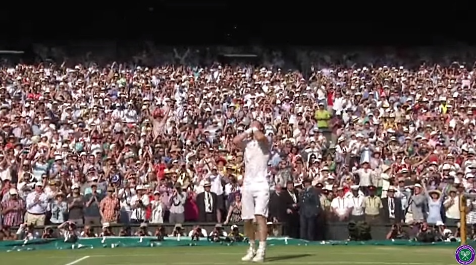 Video: Andy Murray vei Wimbledonin! - Raonic täysin aseeton
