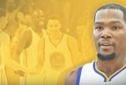 Kevin Durant jatkosopimukseen Golden State Warriorsin kanssa