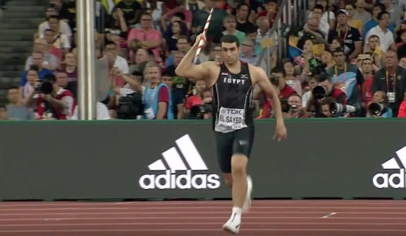 Viime vuonna keihäänheiton MM-hopeaa voittanut Ihab Abdelrahman kärähti dopingista