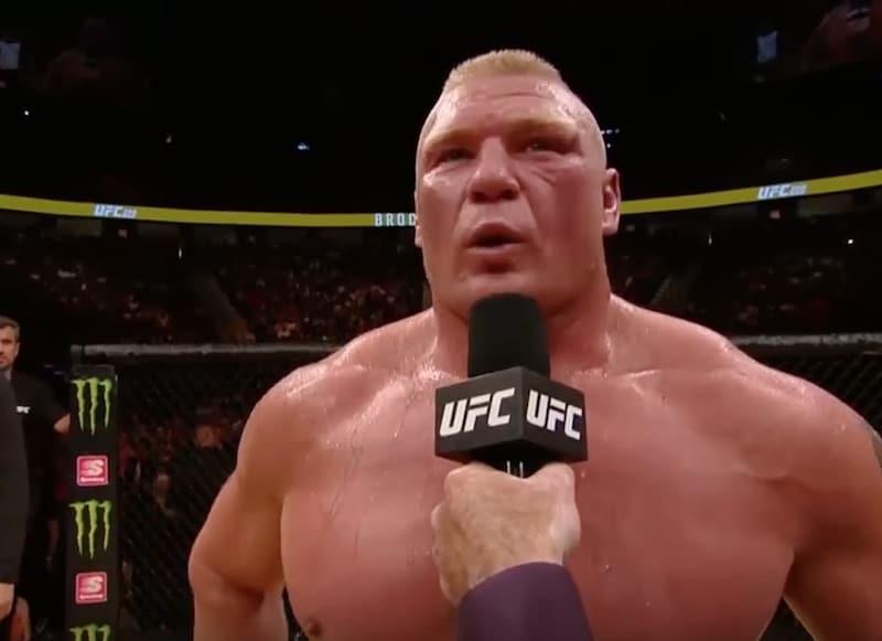 UFC:hen paluun tehnyt Brock Lesnar kärähti dopingista