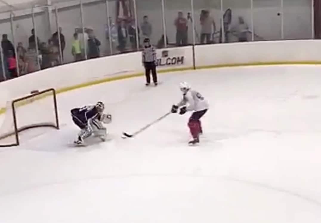Video: Suomalaislupaus Henrik Borgström ujutti jäätävän rankkariosuman NHL-leirillä