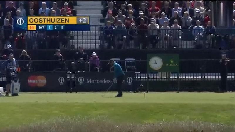 Video: Louis Oosthuizen täräytti heti hole in onen – Phil Mickelson laittoi pystyyn hurjan shown