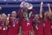 Video: Portugali nappasi EM-kultaa Éderin jatkoaikamaalilla