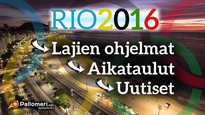 Suomen joukkue Rion olympialaisiin valittu