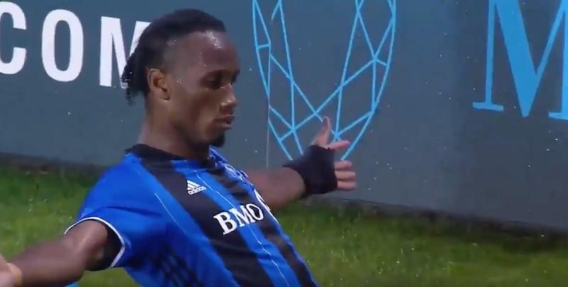 Video: Didier Drogba iski hattutempun reiluun puoleen tuntiin MLS:ssä