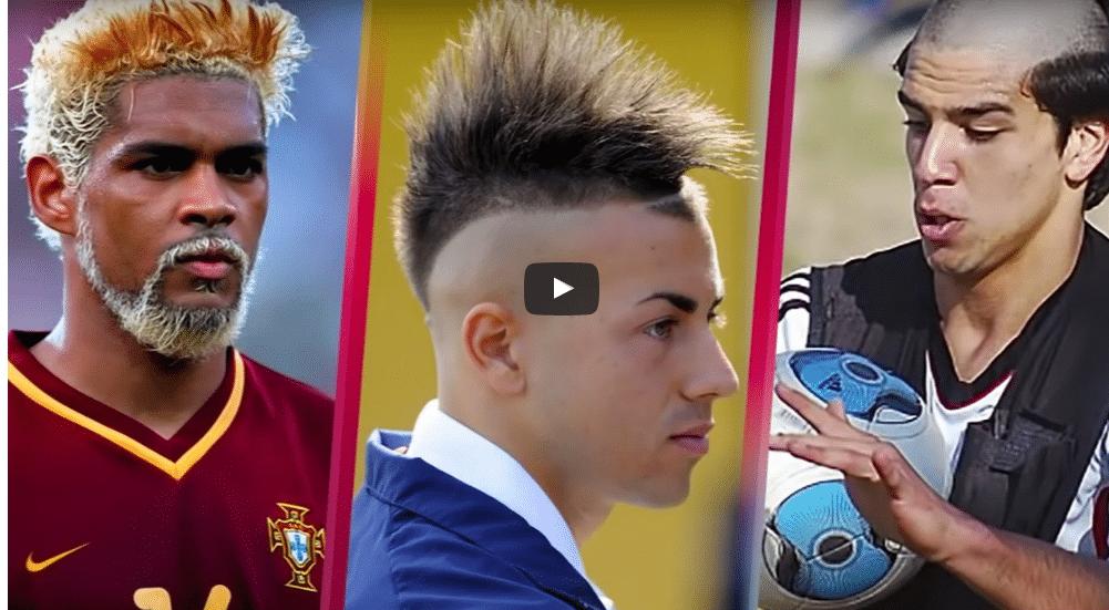 Video: Hämmentävimmät tukkatyylit futiskentiltä