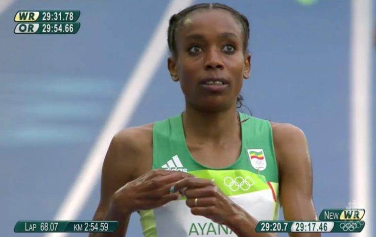 Etiopialaisnaiselta hirmuinen ME-tulos 10 000 metrillä