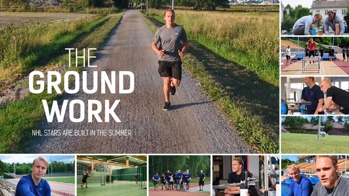 The Ground Work - dokumentti - NHL-pelaajien kesäharjoittelu - Mikko Rantanen Rasmus Ristolainen Patrik Laine Hannu Rautala - pallomeri.net