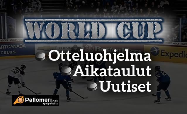 Tässä World Cupin otteluohjelma – turnaus huipentuu paras kolmesta -finaalisarjaan