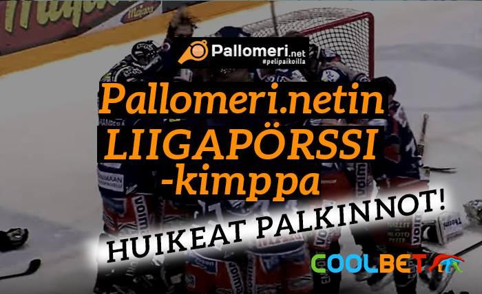 5. jakso 4 jakso Coolbet Liigapörssi-kimppa Liiga / Pallomeri.net