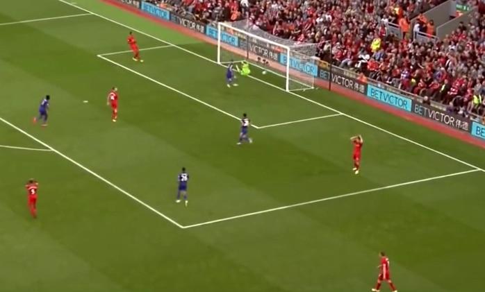 Jamie Vardy sai todellisen lahjamaalin Liverpoolia vastaan