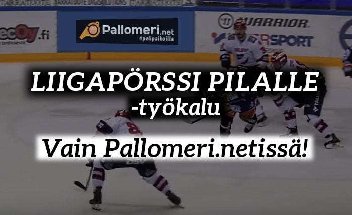 Liigapörssin parhaat pelaajat Liigapörssi pilalle -työkalu - pallomeri.net