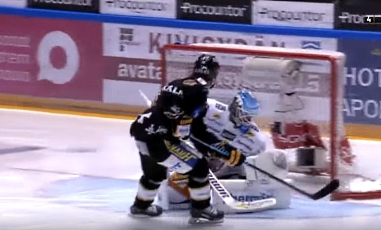 Sebastian Aho ujuttaa Kärpät Suomen mestariksi 2015 pallomeri.net