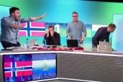Klassikkovideo: Norjan jalkapallostudiossa hajoillaan San Marinon tehtyä 1-1-tasoituksen