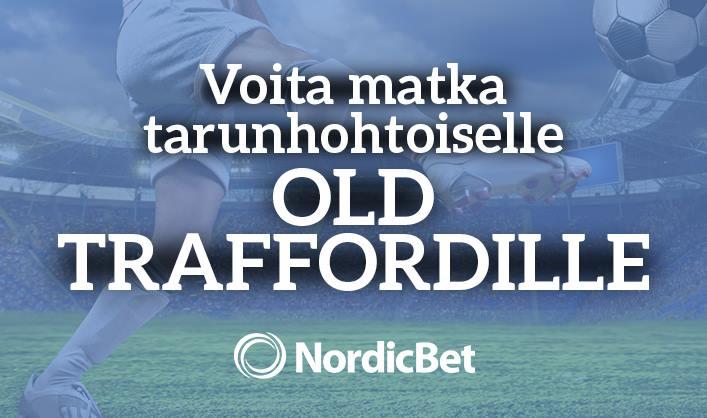 Voita futismatka Old Traffordille ManU-Liverpool-peliin