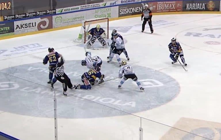 Jukurit-pakki Valtteri Hietanen sai yhden ottelun pelikiellon erotuomarin koskemattomuuden rikkomista
