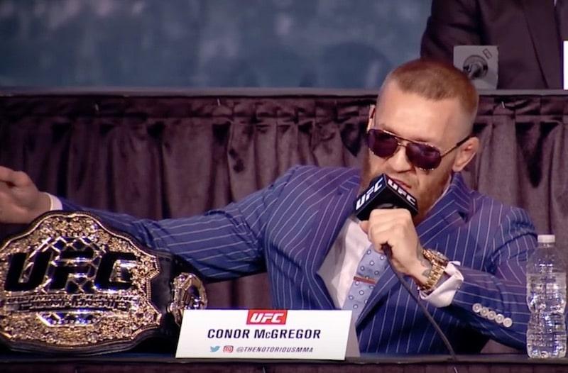 Conor McGregor pidätettiin Miamissa – tuhosi ja varasti fanin puhelimen