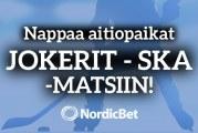 Lyö lätkäveto ja voita VIP-aitio Jokerit-SKA Pietari-peliin