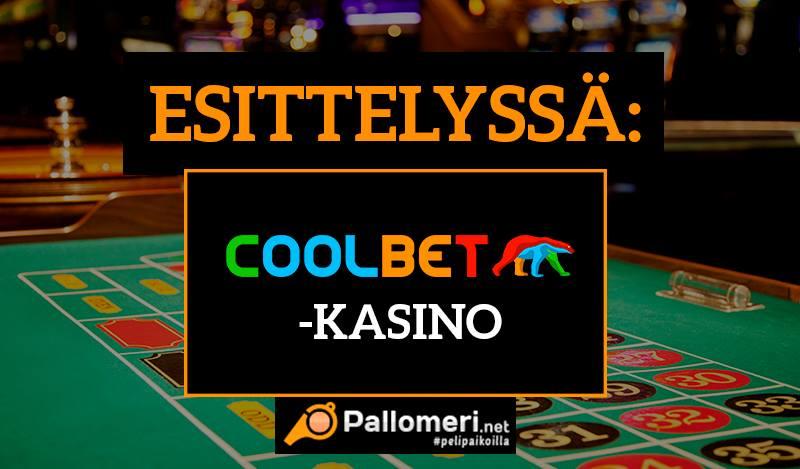 Coolbet kasino esittely ja bonus