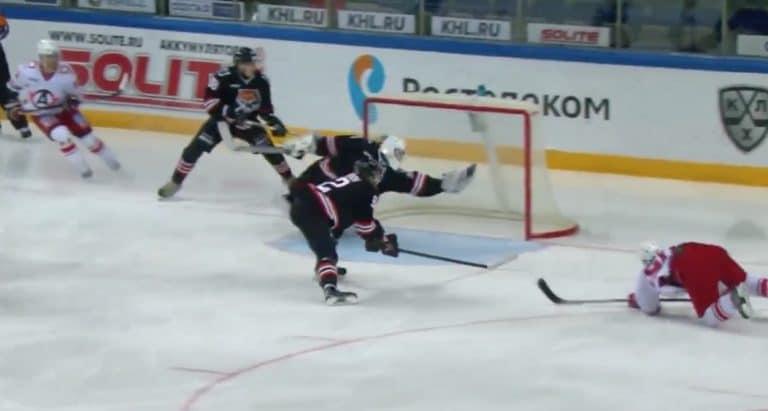 Venäläisveskarilta jäätävä haamukoppi KHL:ssä