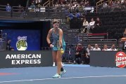 Video: WTA-peluri Kiki Bertensiltä nähtiin tennishistorian surkein ottelupallo