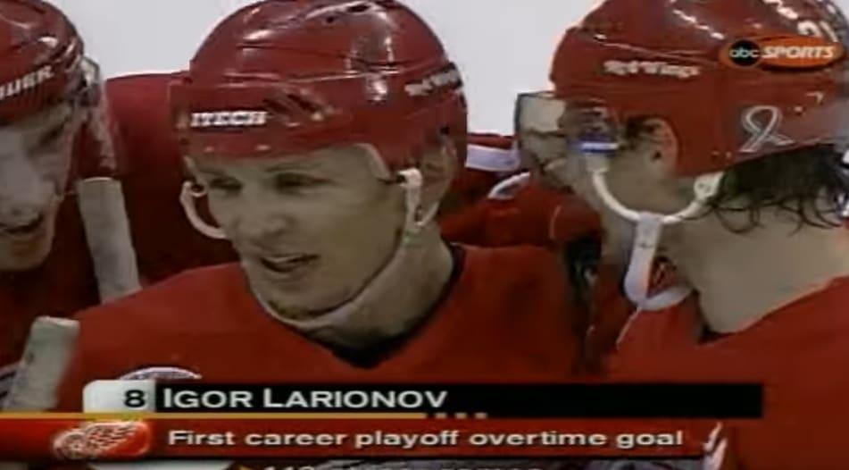 Igor Larionov tänään 56 vuotta - tässä legendan TOP-15 maalit ja syötöt