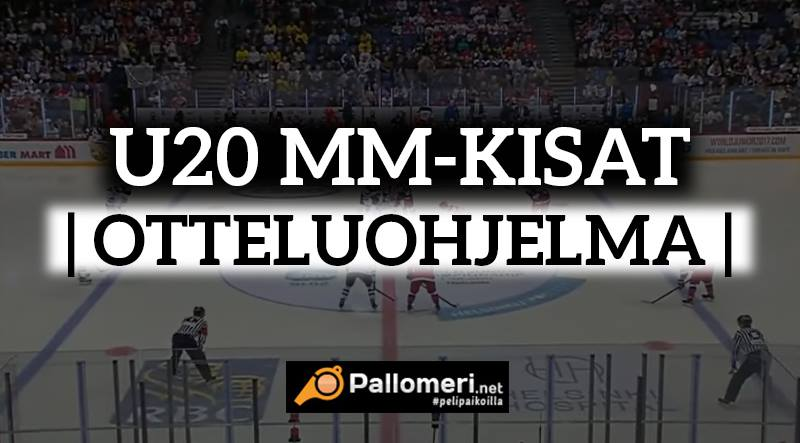 otteluohjelma u20 MM nuorten jääkiekon mm-kisat Pikkuleijonat MM-kisat / Pallomeri.net