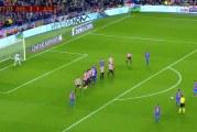Video: Lionel Messi laukoi jälleen upean vaparimaalin – varmisti jatkopaikan Barcelonalle