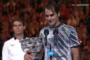 Kuningas palasi valtaistuimelle – Roger Federer Australian valtias