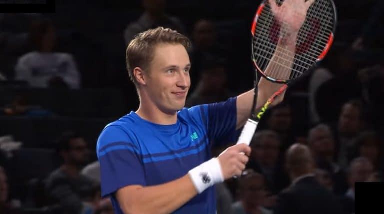 Video: Henri Kontinen upeasti voittoon Tukholman ATP-turnauksen nelinpelissä