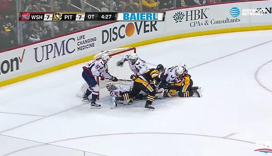 Video: 15 maalin normi-ilta Pittsburghissa - Capitalsin voittoputki poikki